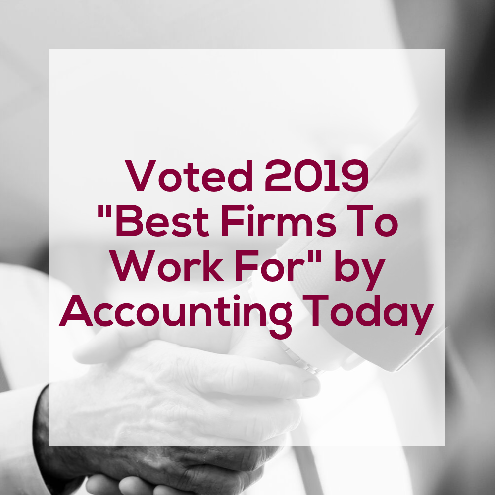 2019 Best Accounting Firms To Work For