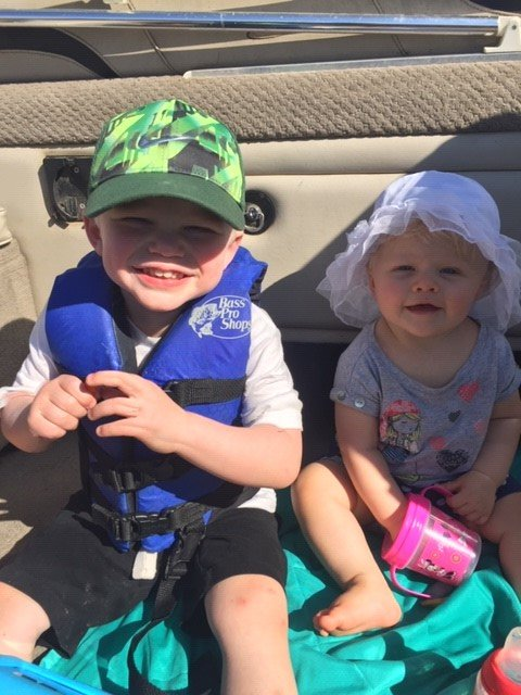 Calvin (3) and Corbin Chambers (10 months) | (Family of Caitlin Chambers)